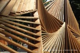 Ouvrage d'art bois au parc de la Villette – Paris (75)