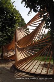 Construction bois au parc de la Villette – Paris (75)
