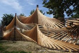 Installations en bois au parc de la Villette – Paris (75)