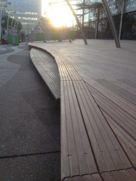 Sundeck nouvelle terrasse Jardin Atlantique