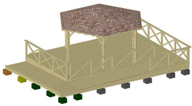 SLE Plan 3D Kiosque de Belneuf (Orléans)